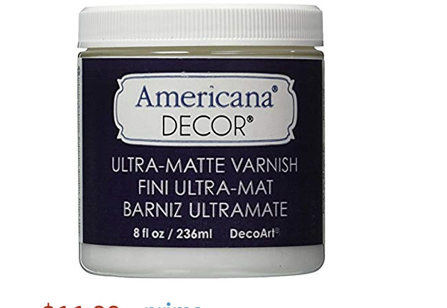 Americana Soft Touch Varnish for $3 24 at Hobby Lobby